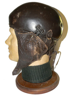 WWII French Type 11 flying helmet