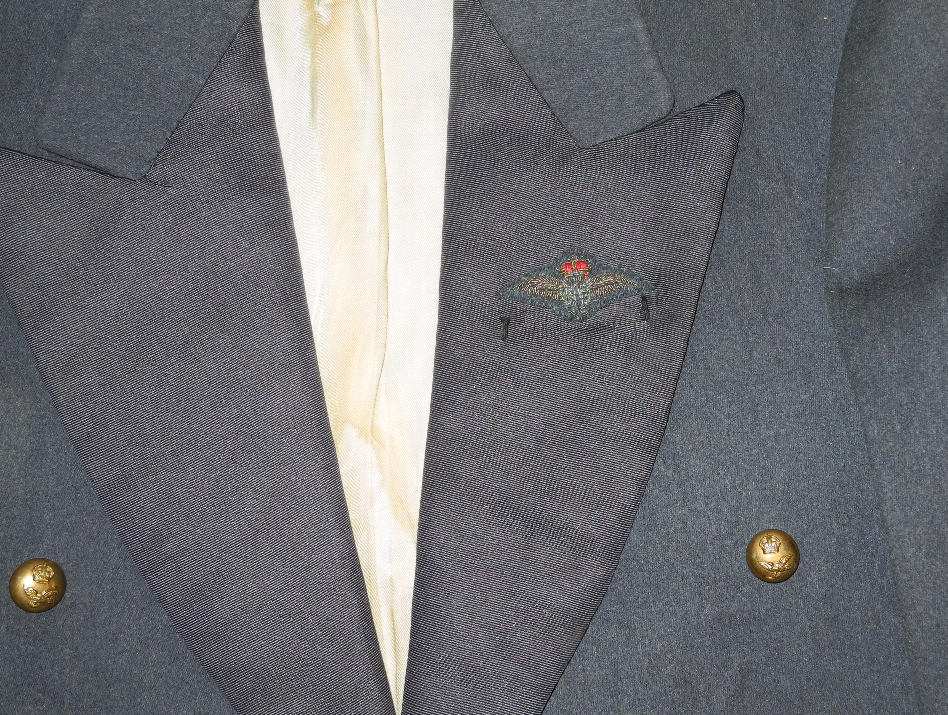 RAF mess dress jacket and waistcoat to a Battle of Britain pilot