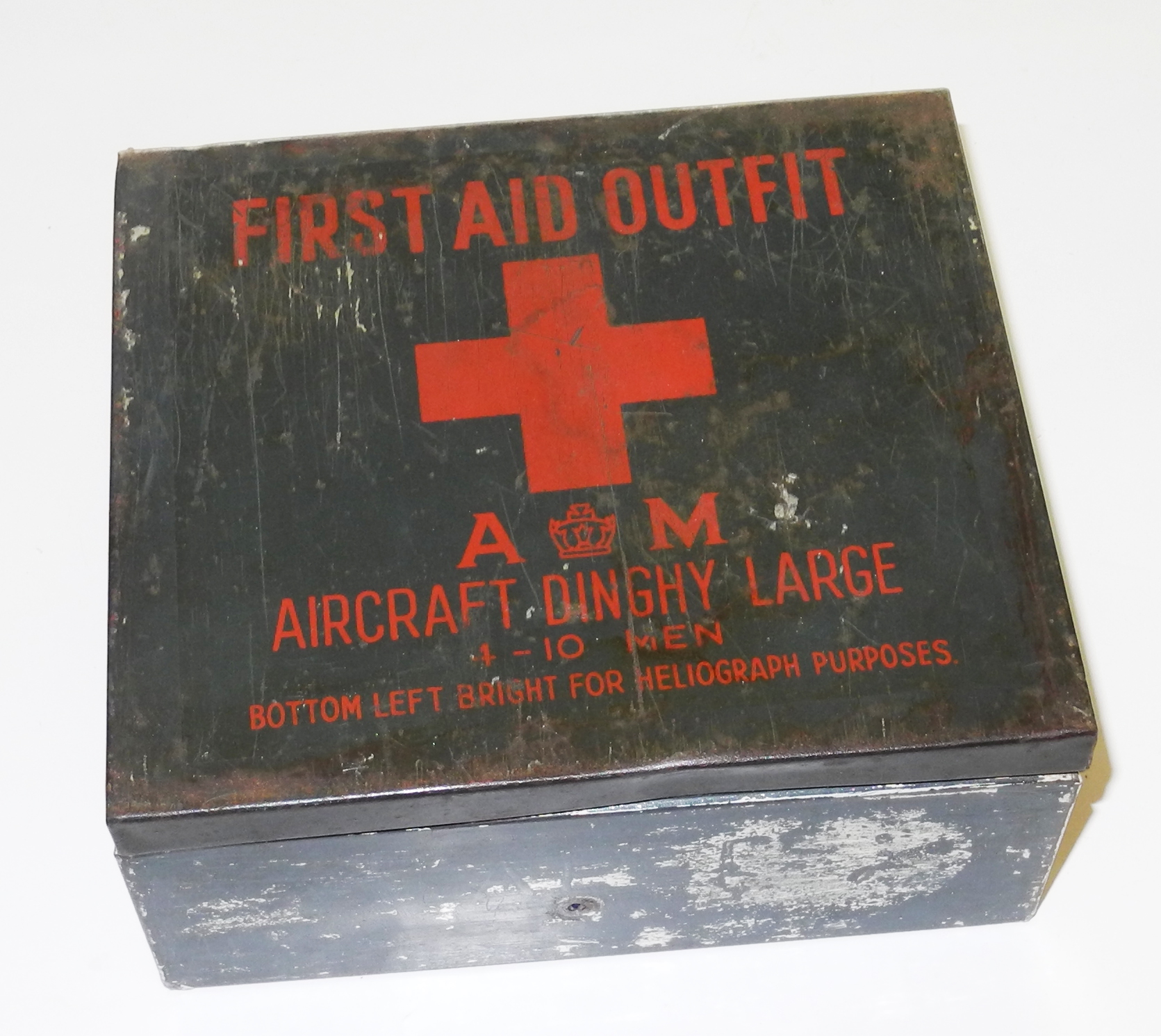 RAF multi-place dinghy First Aid Outfit with most contents