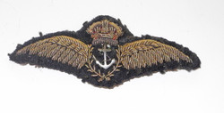 WWWII Fleet Air Arm pilot wing