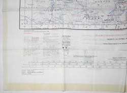 RAF fabric (Rayon) maps 1950s x 2