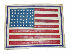US 48 star flag for A-2 jacket