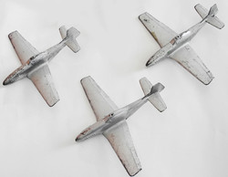 AAF P-51 recognition models x3