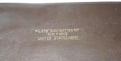 AAF Pilot's Navigation Kit leather case
