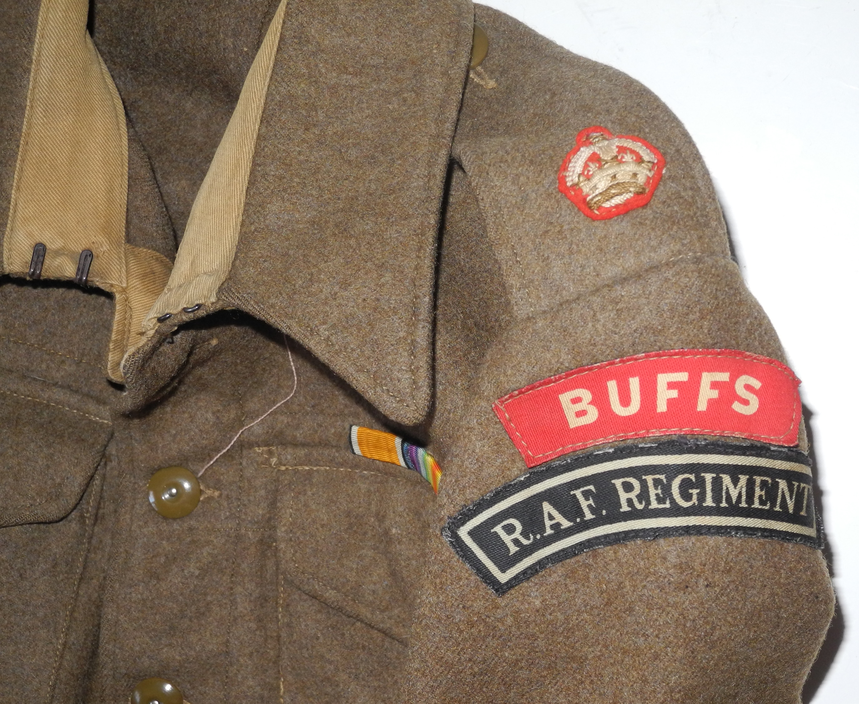 RAF Regiment army BD blouse