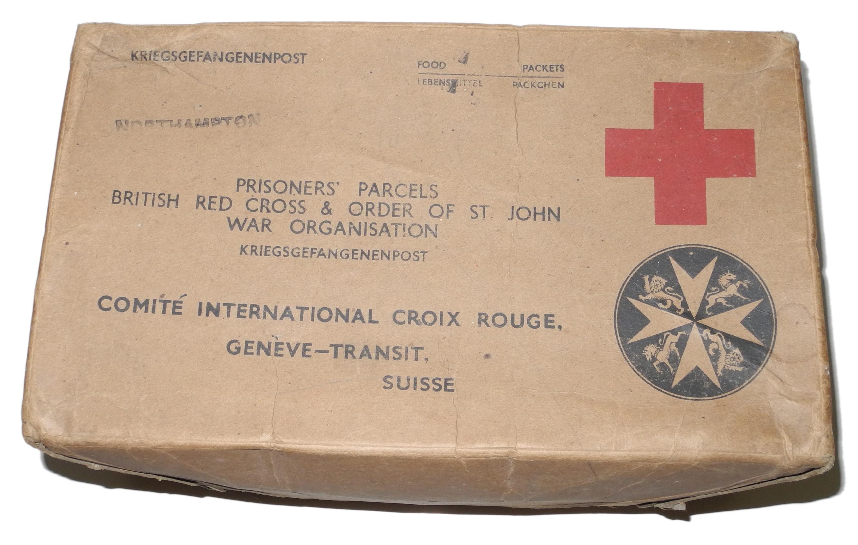 POW Red Cross parcel box