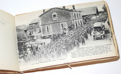 """WWI booklet of French postcards """"Bataille de Champagne"""""""