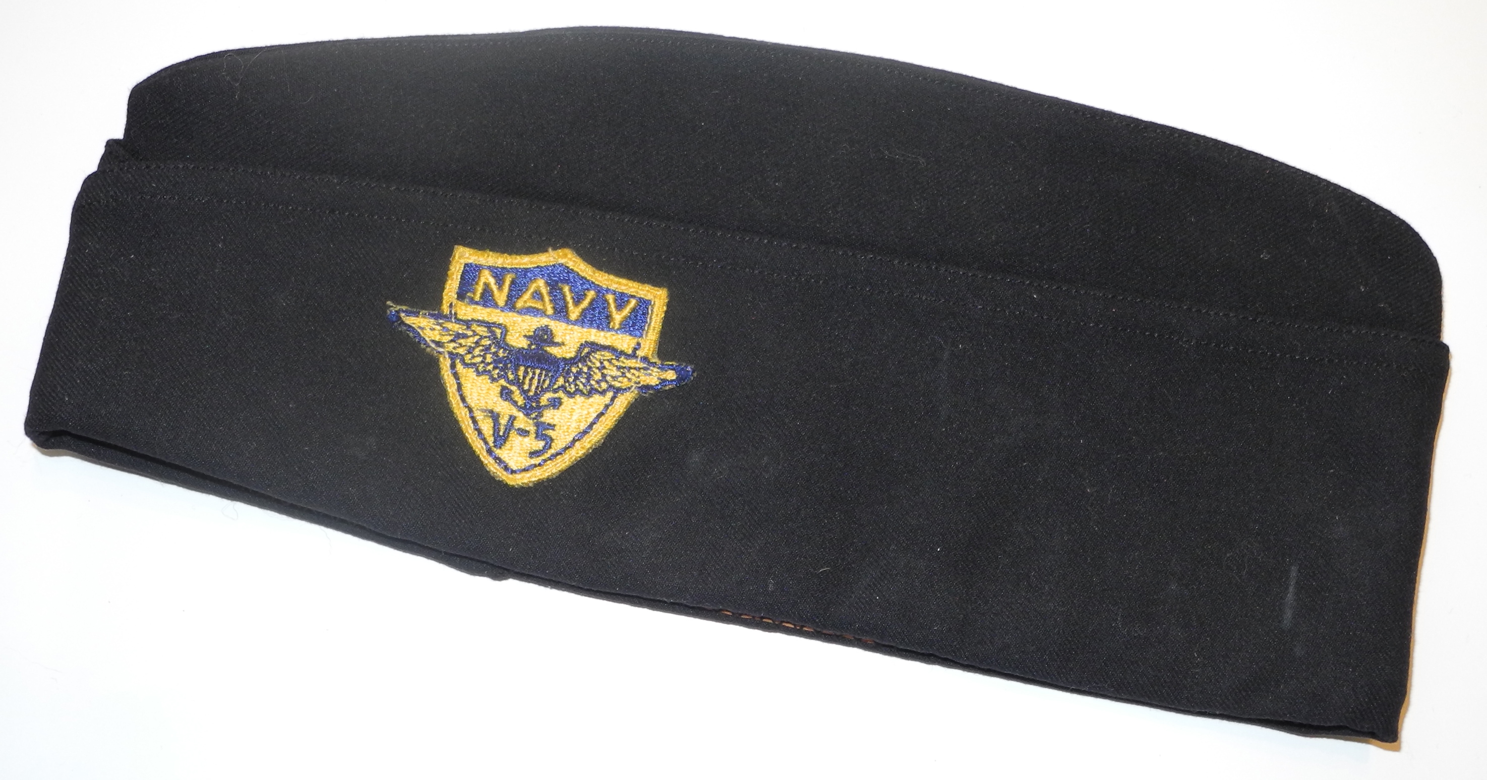 USN V-5 aviation overseas cap