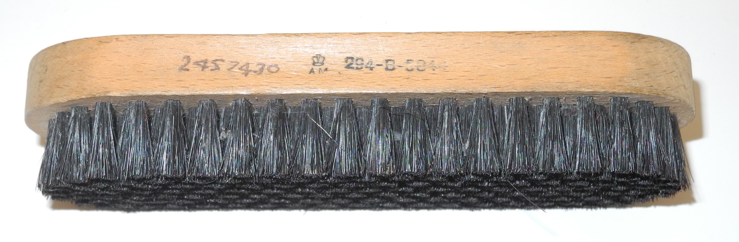 RAF issue boot/shoe brush 1944