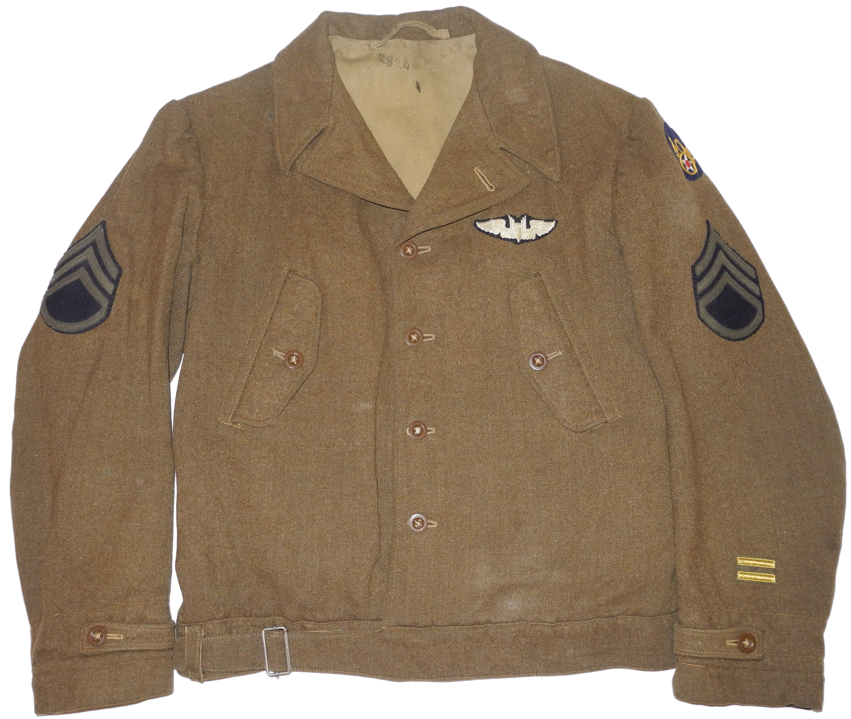 AAF British made ETO Field Jacket