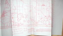 RAF navigator's chart Europe