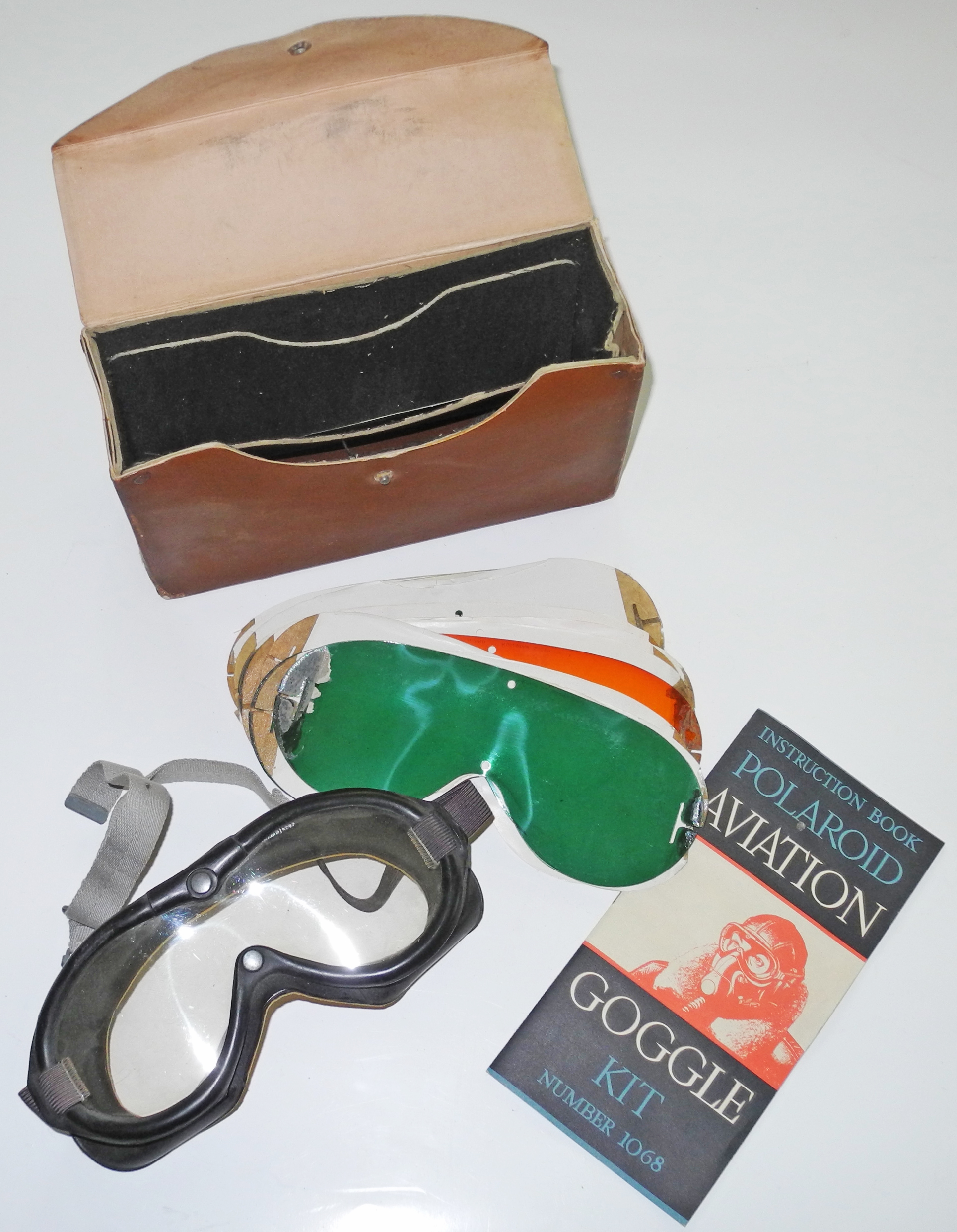 AAF Polaroid Type 1065 goggles kit