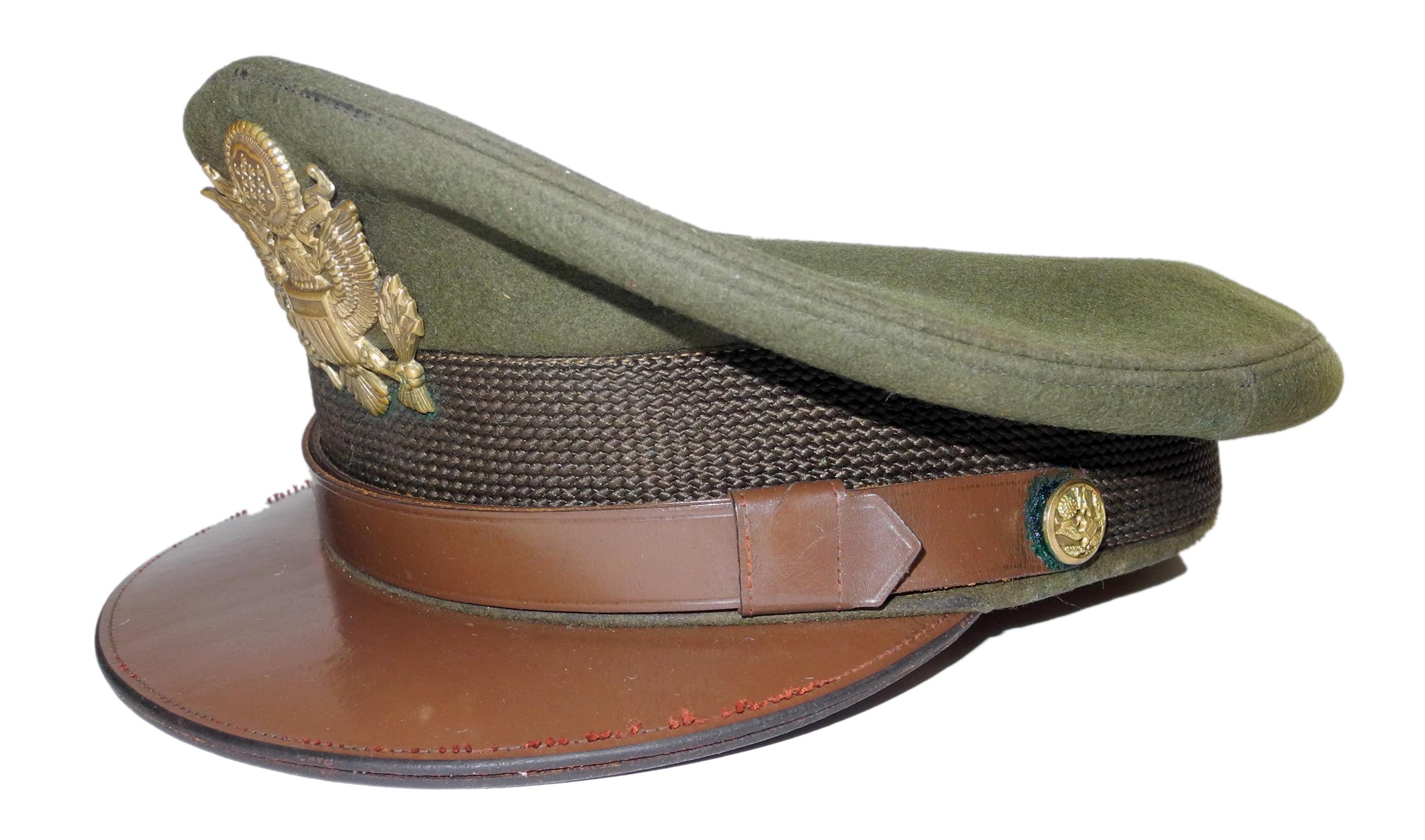 AAF officer's peaked / visor cap