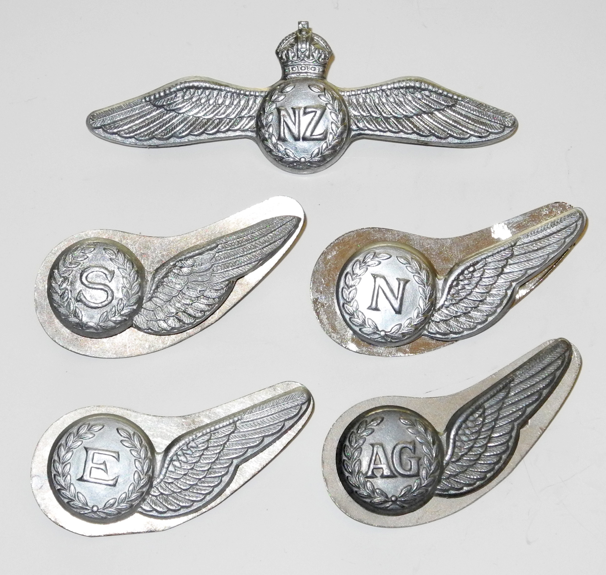 RNZAF flight qualification badges / insignia