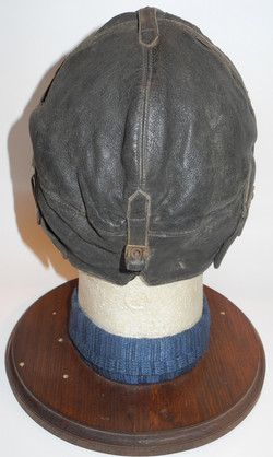 Burberry 1930s flying helmet with Gosports