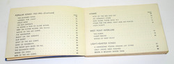 WWII AAF song book
