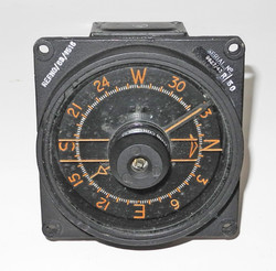 WWII RAF aircraft course indicator / compass
