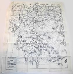 RAF escape map Greece/Bulgaria