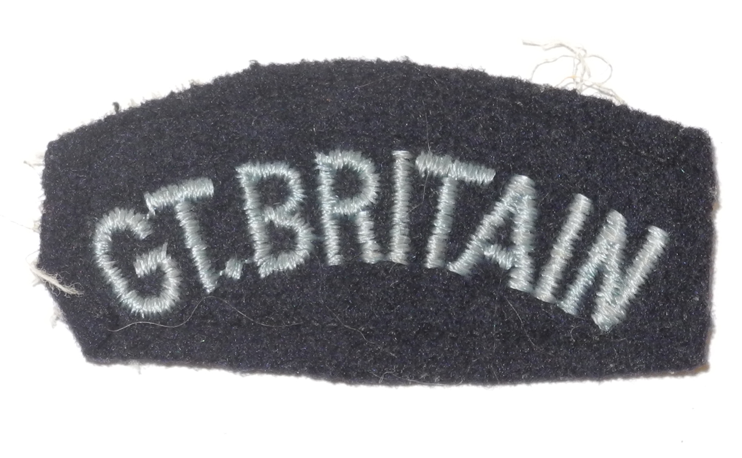 "RAF ""Great Britain"" shoulder title"