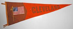 Cleveland, Ohio wartime pennant