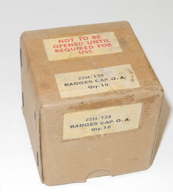 RAF cap badge box
