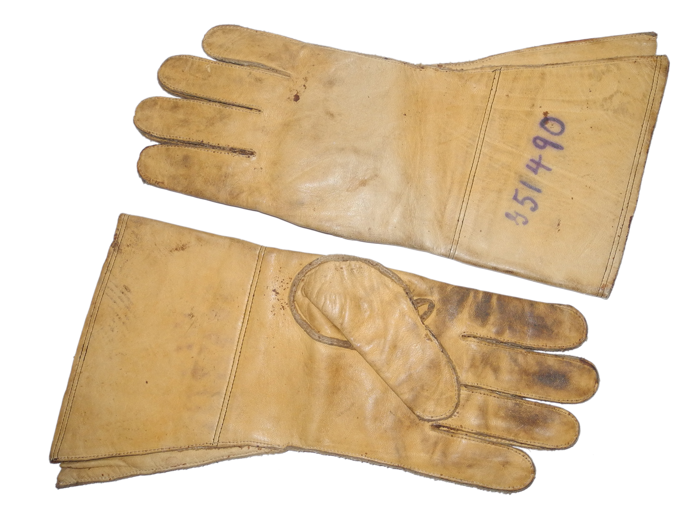 RAF/British army despatch rider's gloves