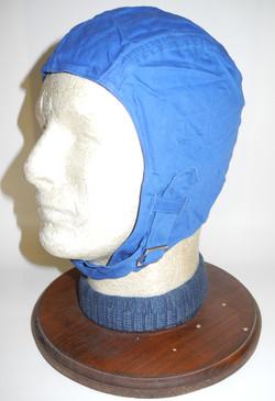 Scarce Royal Navy Fleet Air Arm deck crew helmet