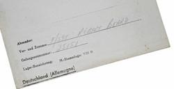 RAF Flt. Sgt. POW letter home