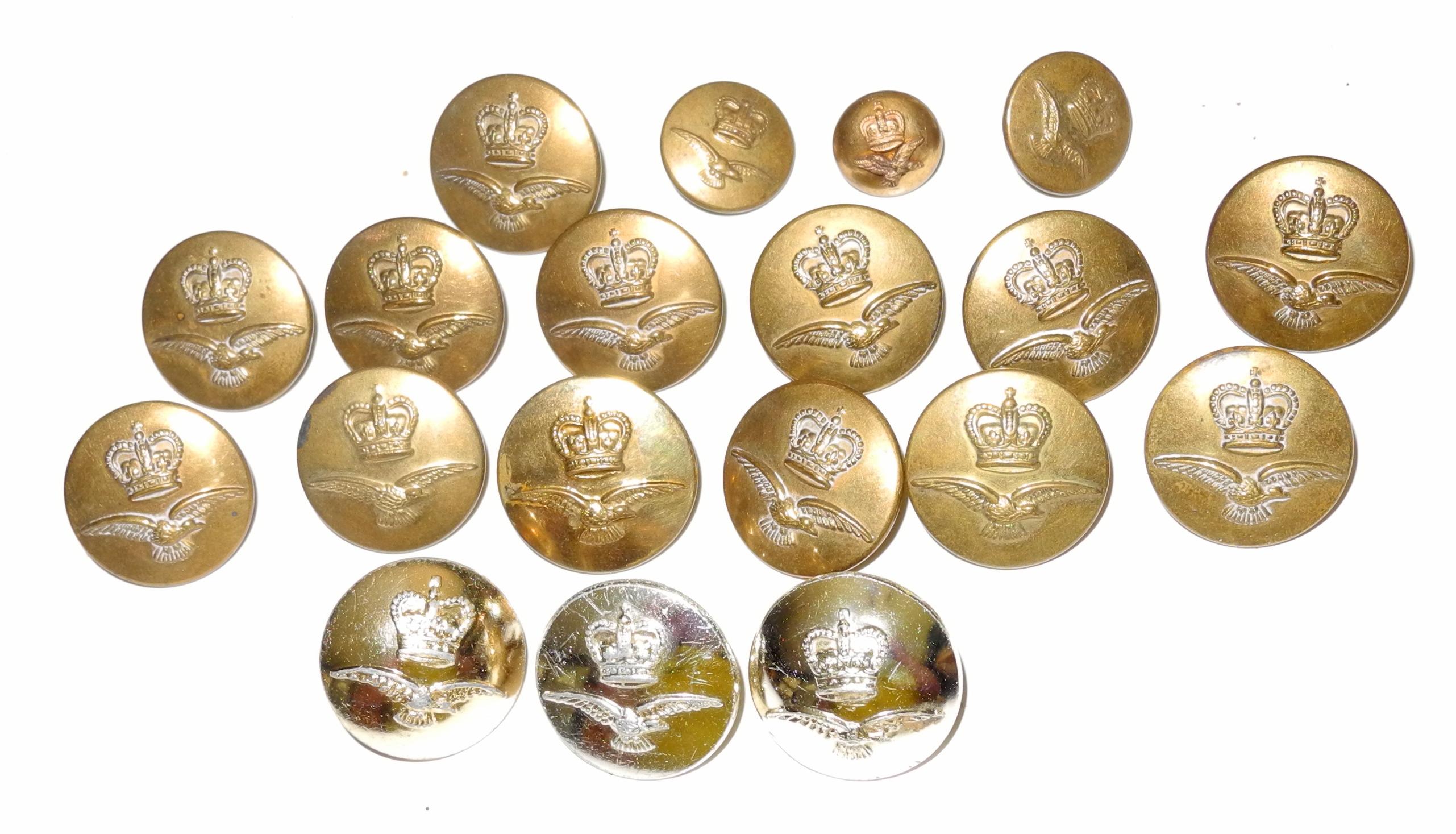 RAF QC buttons