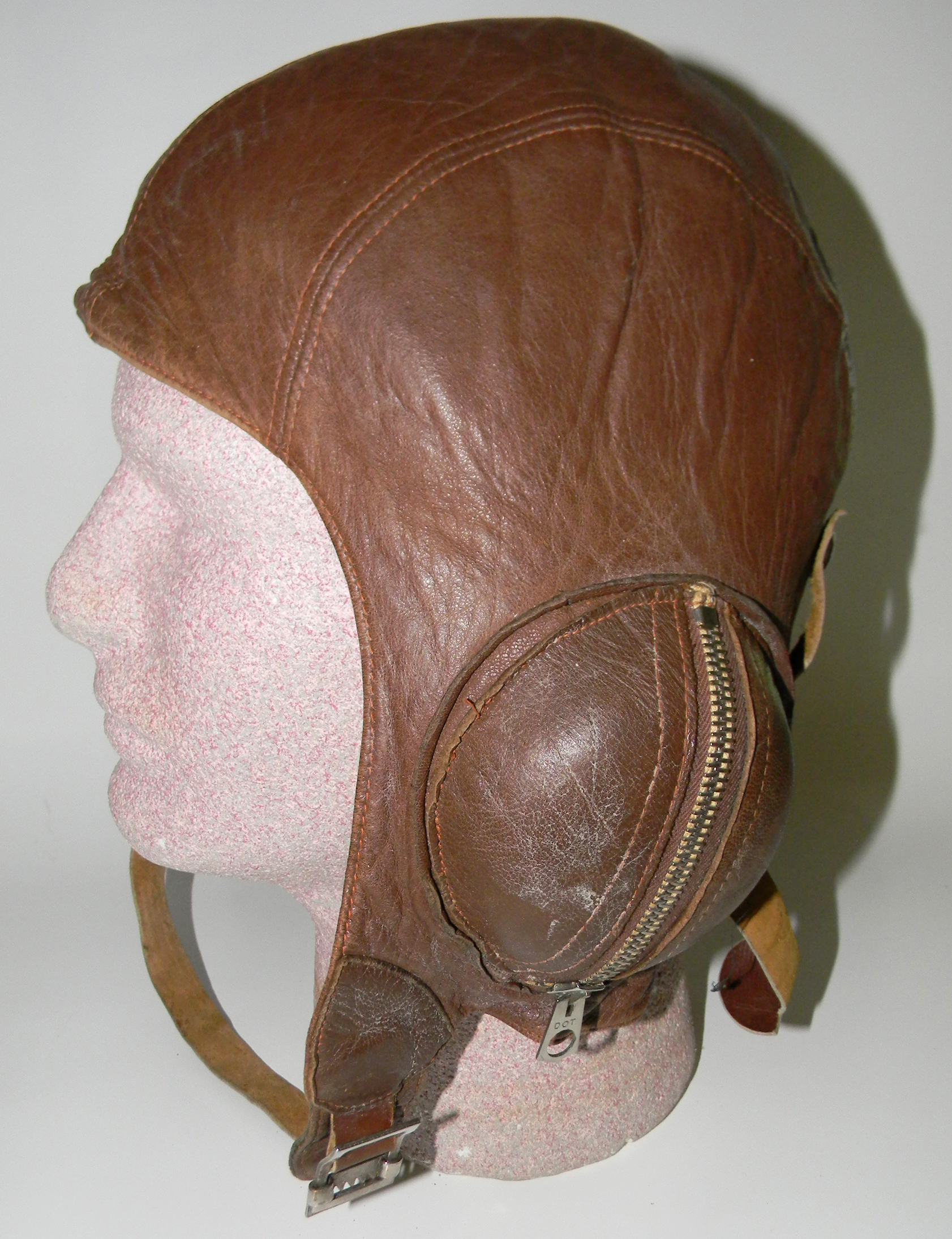 RCAF B type zip-war helmet