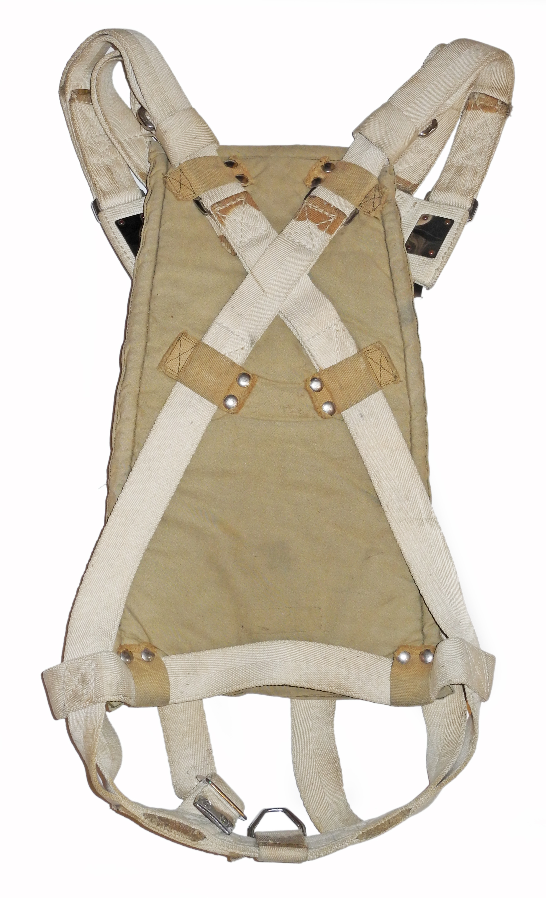 RAF/RCAF observer parachute harness dated 3/43