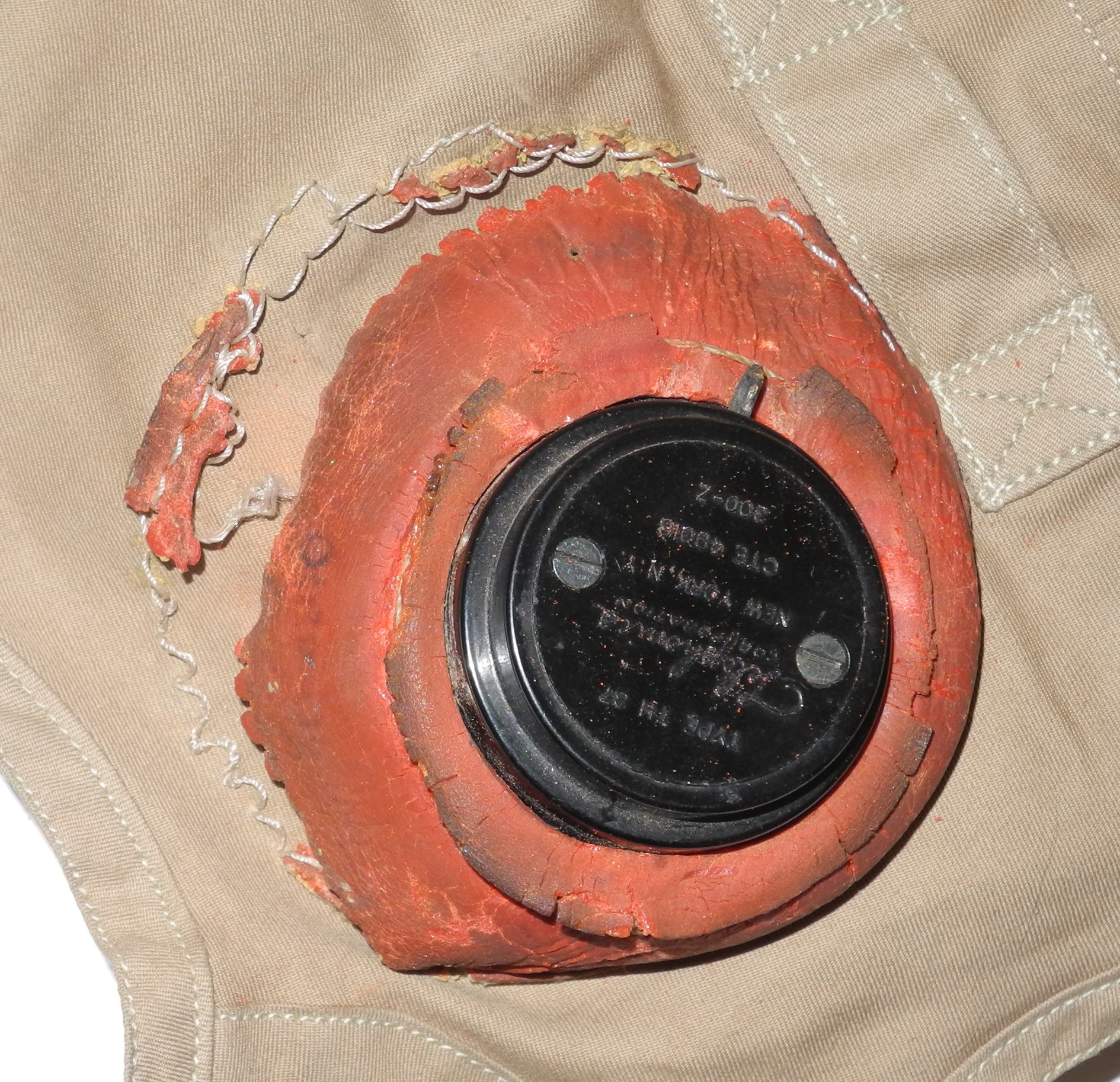 USN M-450 flying helmet with TH-37 receivers and  TC-66 ear cups