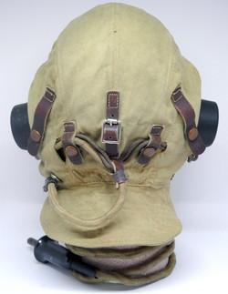RAF Type D helmet, fully wired