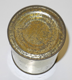 RAF multi-place dinghy ration tin complete