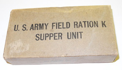 WWII US K Rations Supper