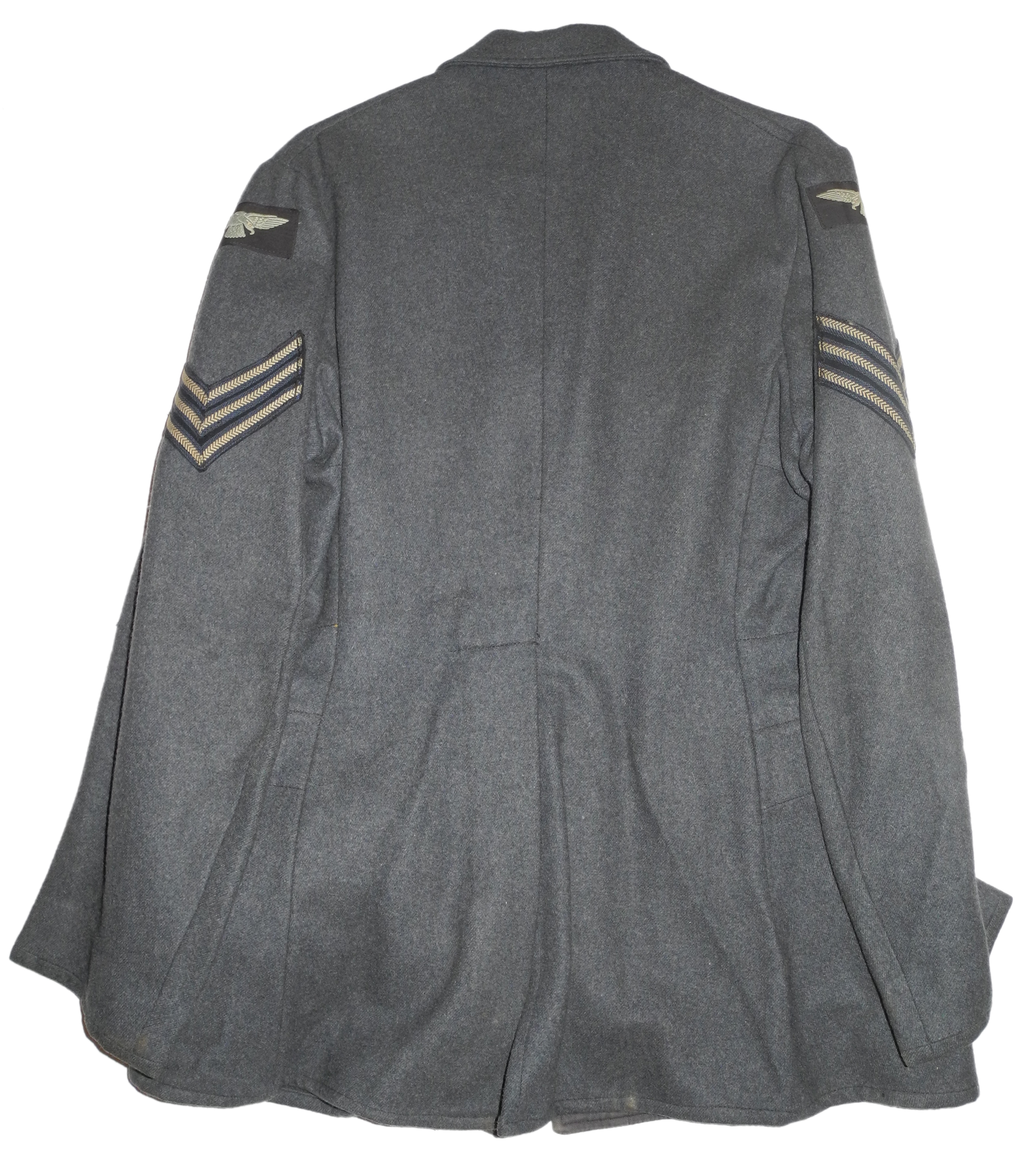 RAF sergeant service dress with pathfinder badge