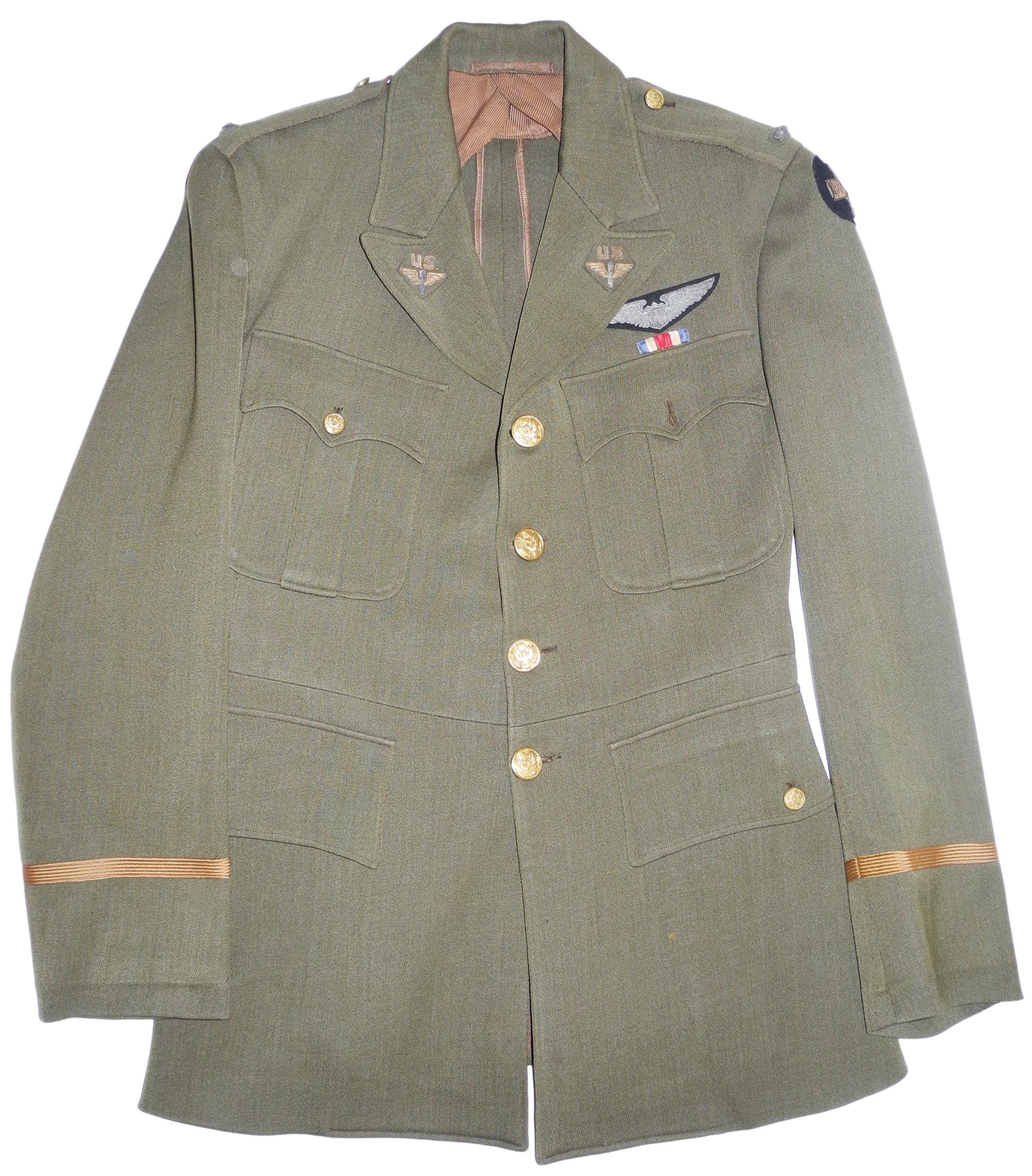 Army Air Corps 1930s tunic with ID