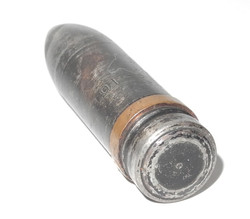 RAF 1942 dated 20mm cannon shell projectile