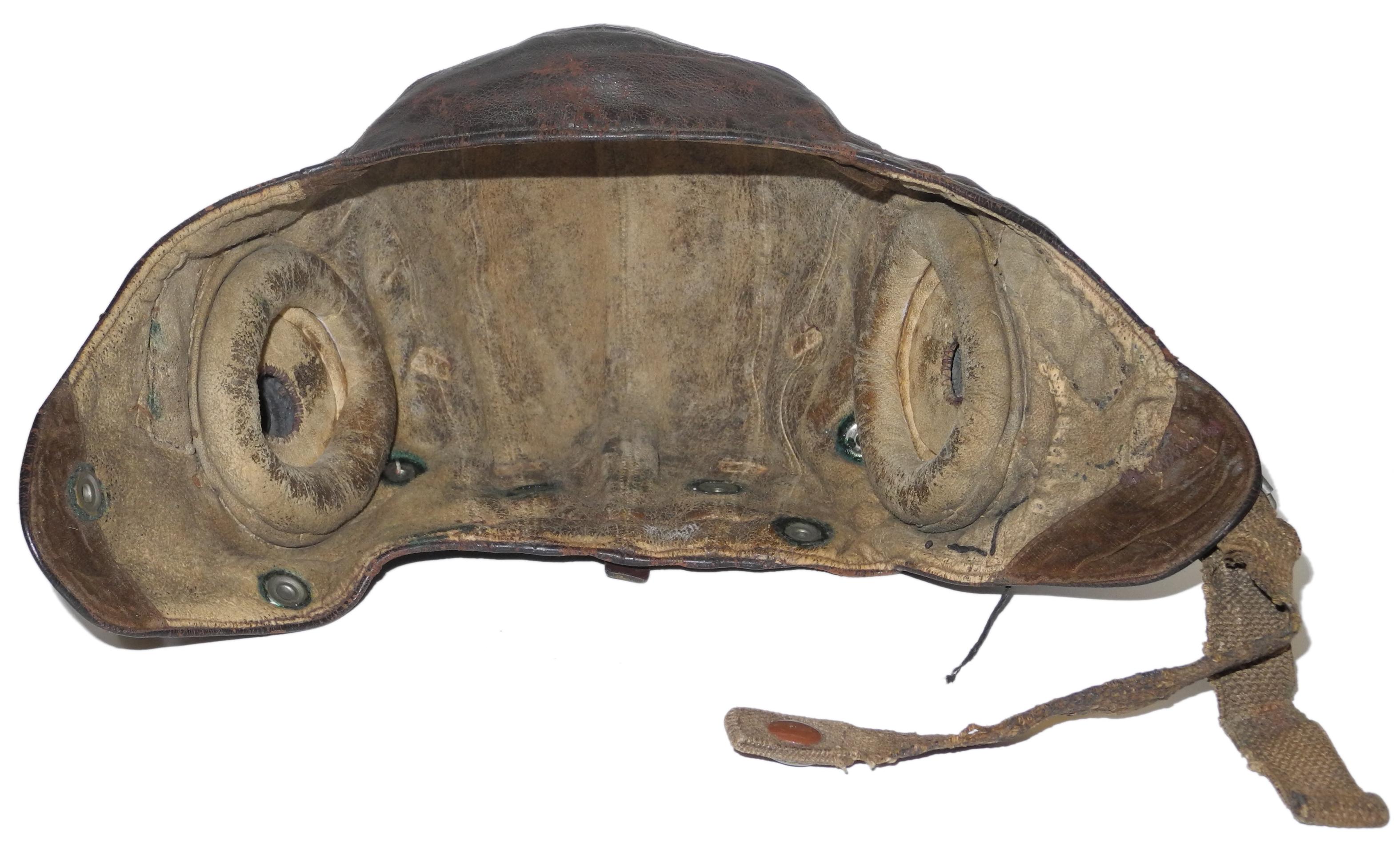 Fleet Air Arm Type C flying helmet