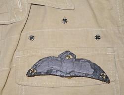 RAF Bush Shirt with pilot wing