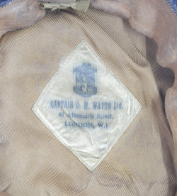 RNAS officers cap with white cover
