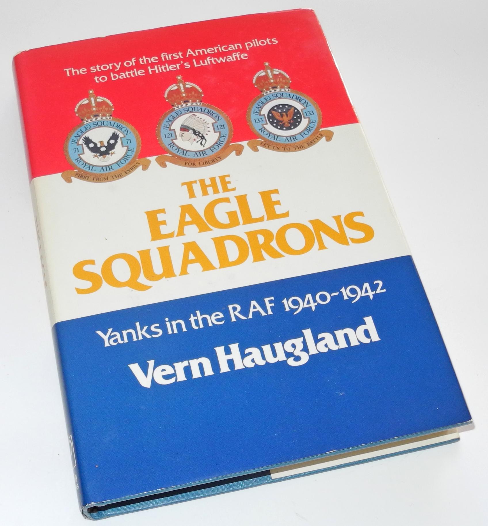 30 Eagle Squadron pilots signed b466