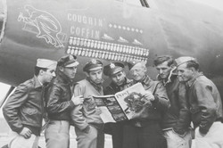 """AAF official photo of B-26 """"Coughin' Coffin"""""""
