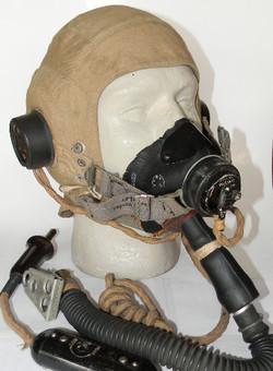 RAF Type D helmet E* mask