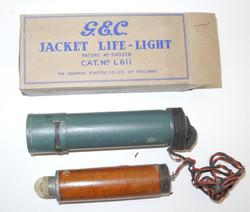RAF Life Jacket floating light