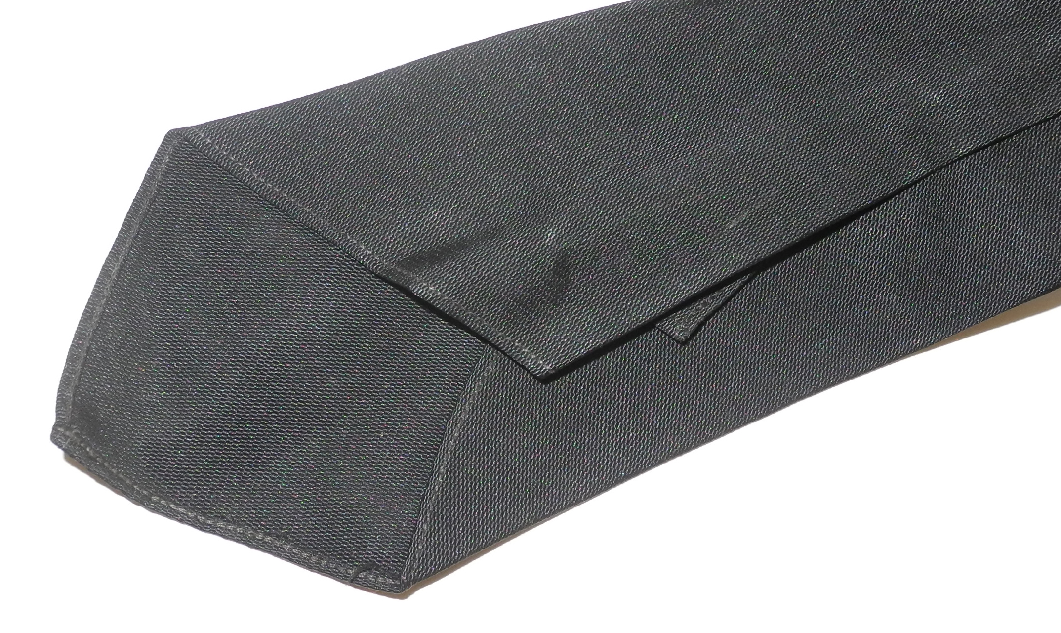 RAF officer's black silk / rayon tie
