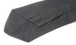RAF officer's black silk / rayon tie