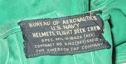 USN deck helmet