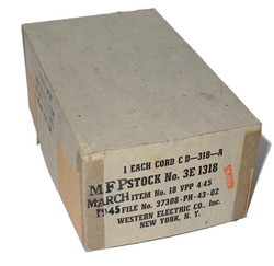AAF push-to-talk unissued in box