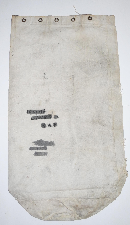 RAF airman's kit bag dated 1940